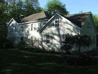 Exterior Painting in Brentwood NH customer review Todd Fitzgerald house