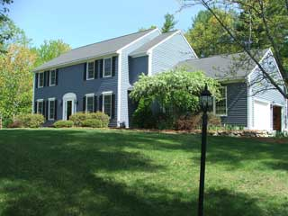 Exterior painting in Amherst NH customer review of Dave Black's house