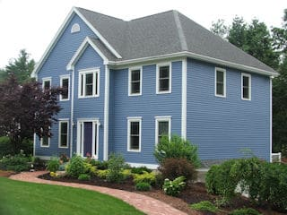 residential exterior painting by painters nh