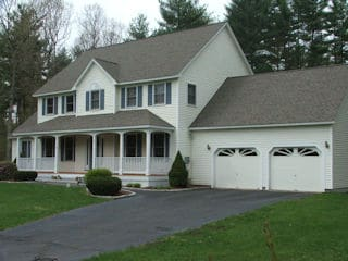 Exterior Painting in Bow NH customer review Adam Levesque house