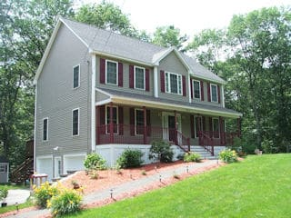 Exterior Painting in Brookline NH testimonial Joe Capalbo house