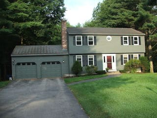 Exterior Painting in Canterbury NH customer review Gary and Heather Duvall house