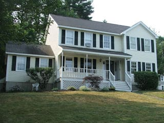 Exterior Painting in Chester NH customer review Robin Boylston house