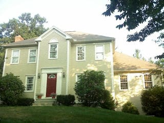 Exterior Painting in Derry NH customer review Rocco LaMonica house