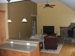 Interior Painting in Dunbarton NH customer review Tim Brannen home
