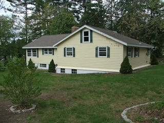 Exterior painting in Freemont NH customer review James and Cindy Garner house
