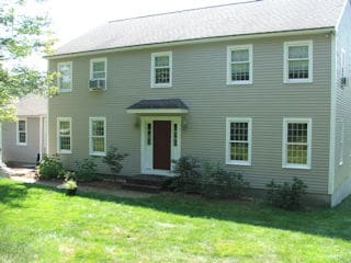 Exterior Painting in Gilford NH customer review Stacey Lobdell house