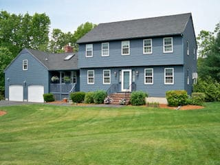 Exterior painting in Goffstown NH customer review Bob and Pat Talanian house