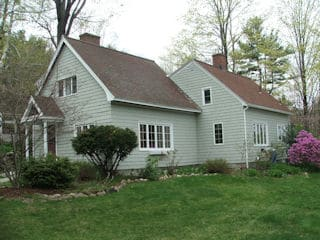 Exterior painting in Hooksett NH customer review Hilary Murray house