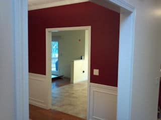Interior painting in Laconia NH customer review Cheryl Smith home