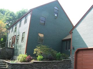 Residential exterior painted house by painters nh