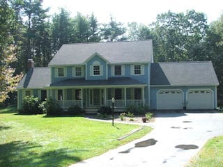 Exterior painting in Lichfield NH customer review Vito Comparato house