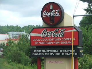 Coca Cola facility interior and exterior painting in Londonderry NH