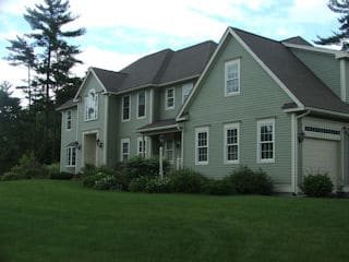 Exterior painting in Londonderry NH customer review Jeff Corbit house