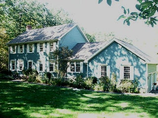 Exterior painting in Loudon NH customer review Jessica Essler house