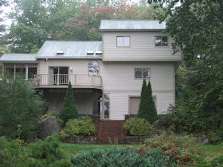 Exterior painting in Meredith NH customer review Kathy & Steve Reynolds house