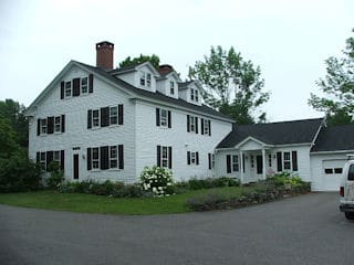 Exterior painting in Meredith NH customer review Al and Barbara Huey house