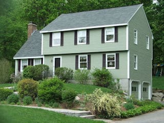 Exterior painting in Merrimack NH customer review Gregg Pencinger house