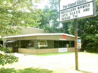 commercial exterior painting by painters nh of portland glass