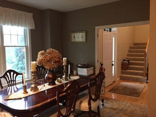 Interior painting in Nashua NH customer review Kate Staveley home