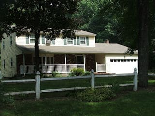 Exterior painting in New Boston NH customer review Pauline Perdikis house