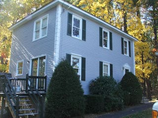 Exterior painting in New Ipswich NH customer review Allan Wilsey house