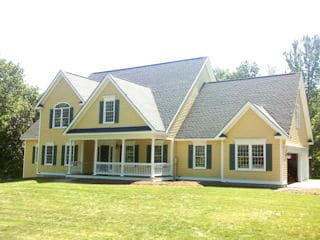 Exterior Painting in New Ipswich NH customer review Carl and Janine Montgomery house
