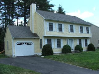 Exterior painting in Raymond NH customer review Dani Alkaly house