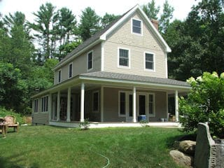 Exterior house painting in Stratham NH