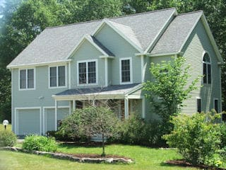 Exterior painting in Stratham NH customer review Keith Timmerman house