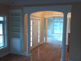 Interior painting in Tilton NH customer review Donald Wilson, D&W Contractors