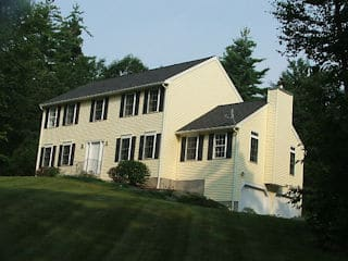 Exterior painting in Hollis NH customer review Chris and Tina Otte house